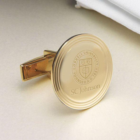 SC Johnson College 18K Gold Cufflinks - Image 2