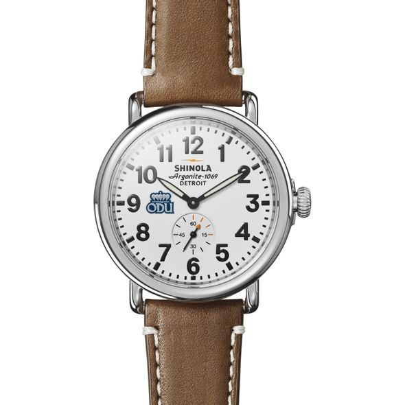 Old Dominion Shinola Watch, The Runwell 41mm White Dial - Image 2