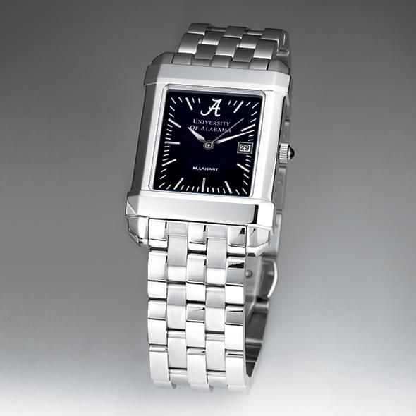 Alabama Men's Black Quad Watch with Bracelet - Image 2