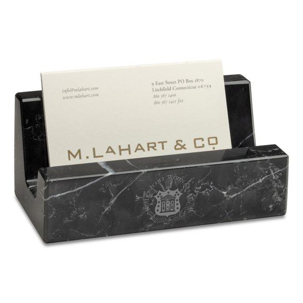 Trinity Marble Business Card Holder