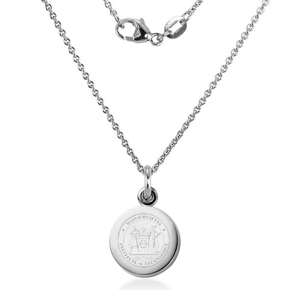 MIT Necklace with Charm in Sterling Silver - Image 2