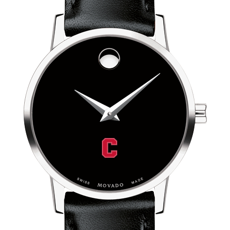 Cornell Women's Movado Museum with Leather Strap