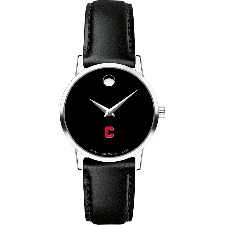 Cornell Women's Movado Museum with Leather Strap - Image 2