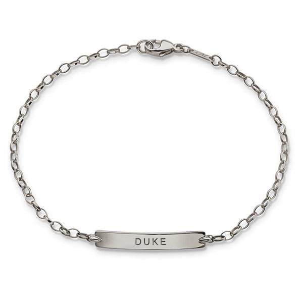Duke Monica Rich Kosann Petite Poesy Bracelet in Silver