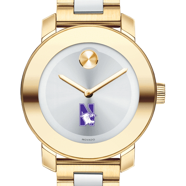 Northwestern Women's Movado Two-Tone Bold - Image 1
