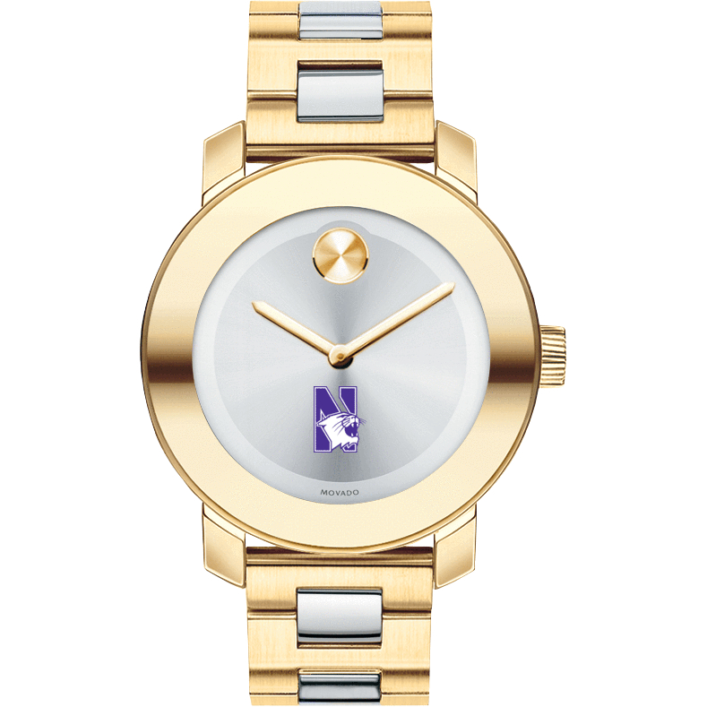 Northwestern Women's Movado Two-Tone Bold - Image 2