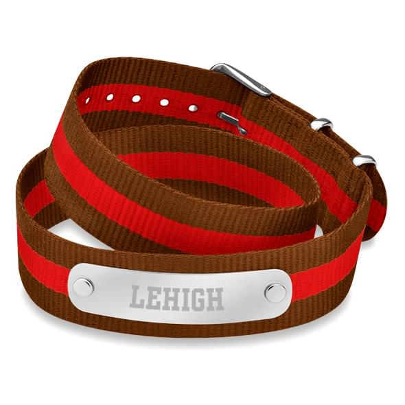 Lehigh University Double Wrap NATO ID Bracelet