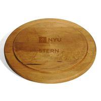 NYU Stern Round Bread Server