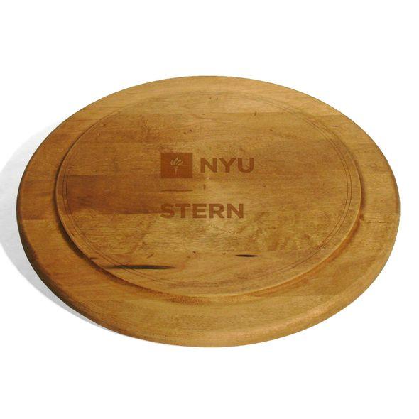 NYU Stern Round Bread Server - Image 1