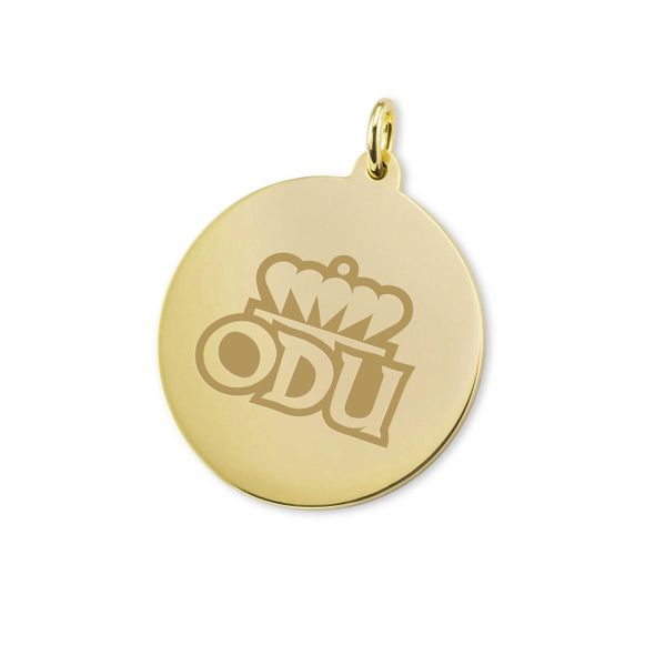 Old Dominion 18K Gold Charm