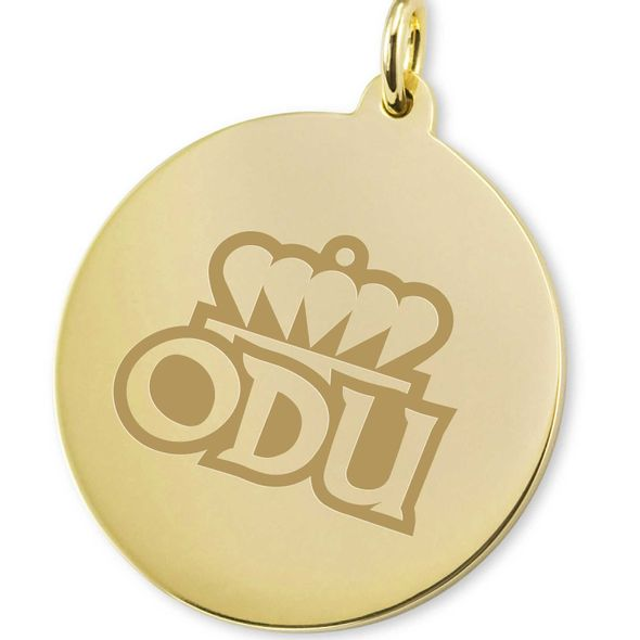 Old Dominion 18K Gold Charm - Image 2
