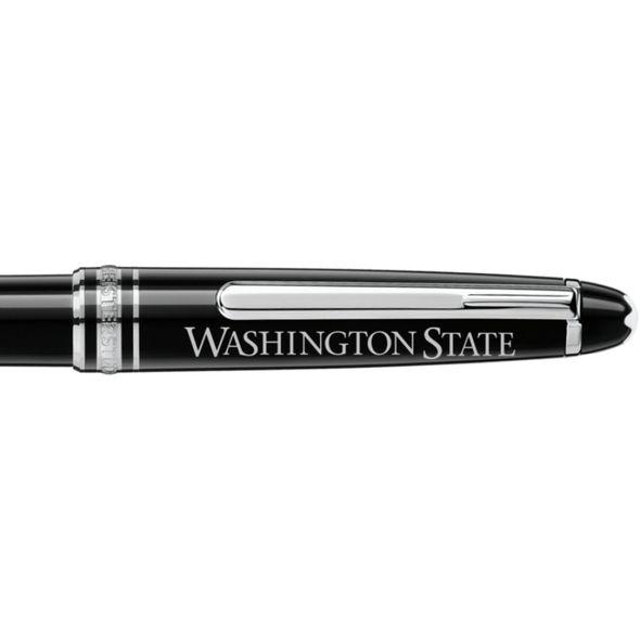 Washington State University Montblanc Meisterstück Classique Ballpoint Pen in Platinum - Image 2