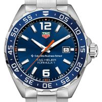 Columbia Business Men's TAG Heuer Formula 1 with Blue Dial & Bezel