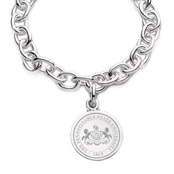 Penn State Sterling Silver Charm Bracelet - Image 2