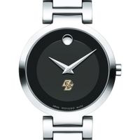 Boston College Women's Movado Museum with Steel Bracelet
