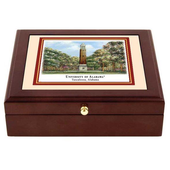 Alabama Eglomise Desk Box