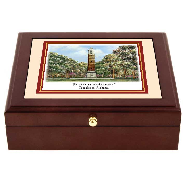 Alabama Eglomise Desk Box