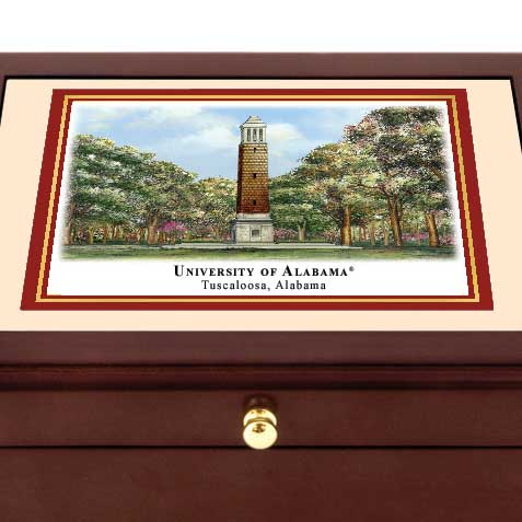 Alabama Eglomise Desk Box - Image 2
