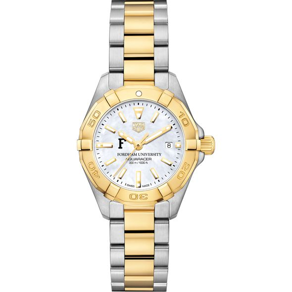 Fordham TAG Heuer Two-Tone Aquaracer for Women - Image 2