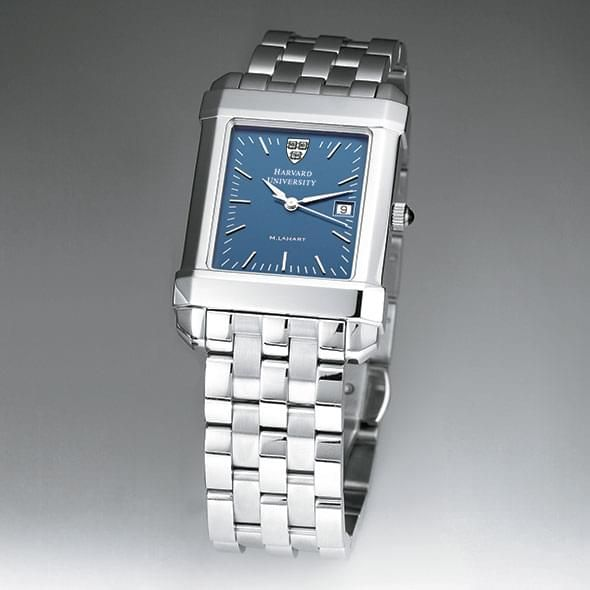 Harvard Men's Blue Quad Watch with Bracelet - Image 2