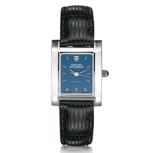 Harvard Women's Blue Quad Watch with Leather Strap - Image 2