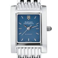 Harvard Women's Blue Quad Watch with Bracelet