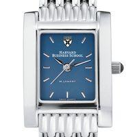 Harvard Business School Women's Blue Quad Watch with Bracelet