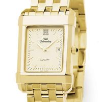Yale Men's Gold Quad Watch with Bracelet