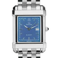 Yale Men's Blue Quad Watch with Bracelet
