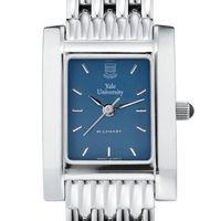 Yale Women's Blue Quad Watch with Bracelet