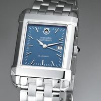 Columbia University Men's Blue Quad Watch with Bracelet