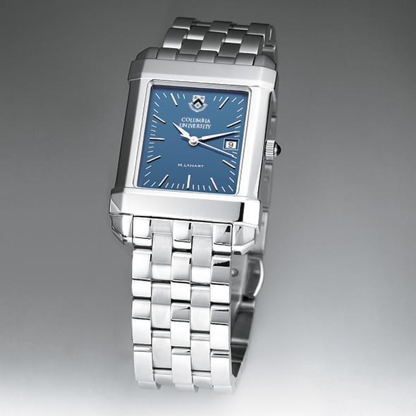 Columbia University Men's Blue Quad Watch with Bracelet - Image 2