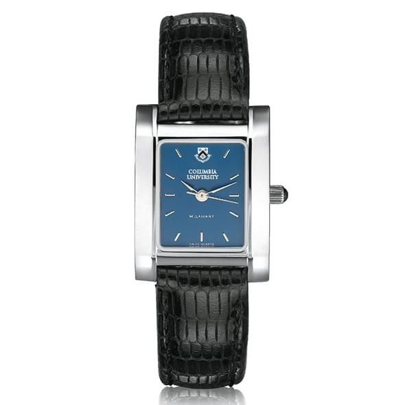 Columbia University Women's Blue Quad Watch with Leather Strap - Image 2