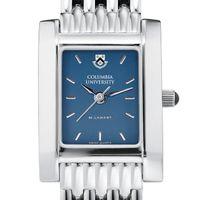 Columbia University Women's Blue Quad Watch with Bracelet