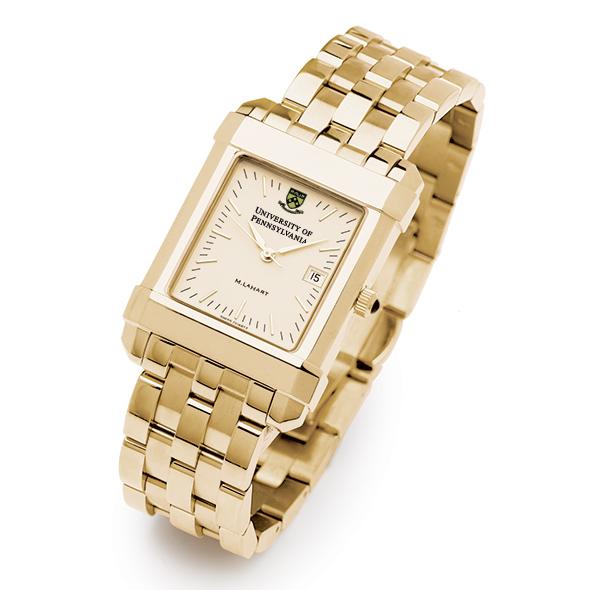 Penn Men's Gold Quad Watch with Bracelet - Image 2