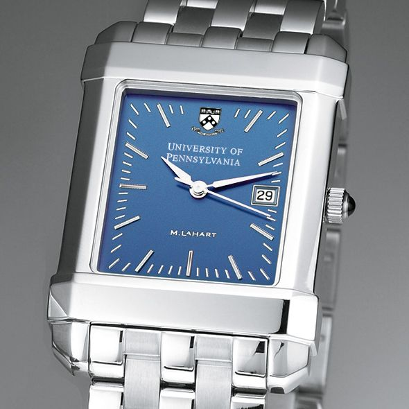 Penn Men's Blue Quad Watch with Bracelet