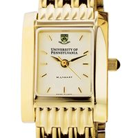 Penn Women's Gold Quad Watch with Bracelet