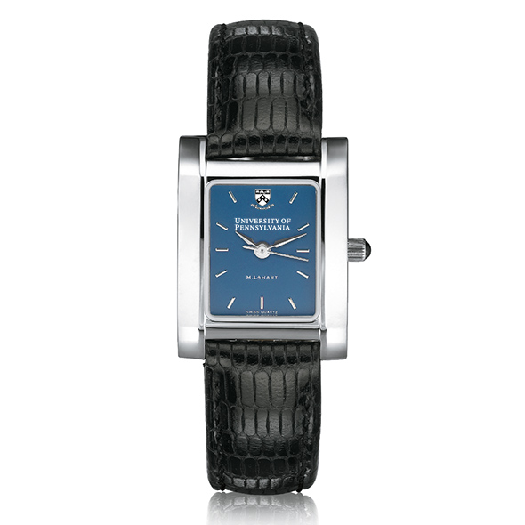 Penn Women's Blue Quad Watch with Leather Strap - Image 2