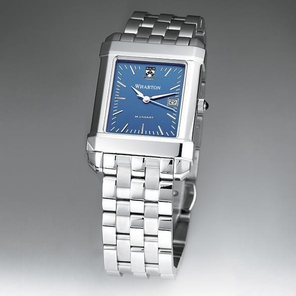 Wharton Men's Blue Quad Watch with Bracelet - Image 2