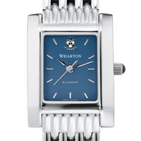 Wharton Women's Blue Quad Watch with Bracelet