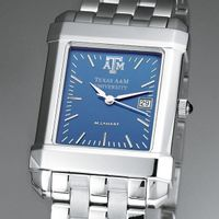 Texas A&M Men's Blue Quad Watch with Bracelet