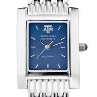 Texas A&M Women's Blue Quad Watch with Bracelet