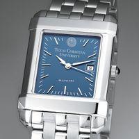 TCU Men's Blue Quad Watch with Bracelet