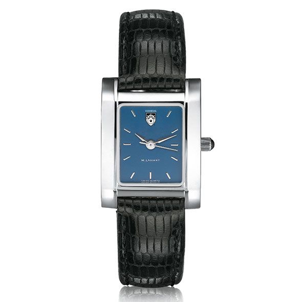 Lehigh Women's Blue Quad Watch with Leather Strap - Image 2