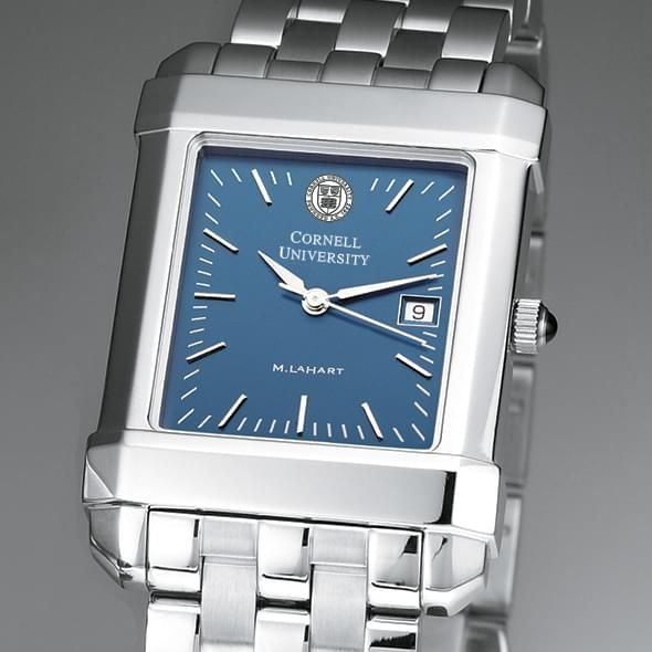 Cornell Men's Blue Quad Watch with Bracelet - Image 1