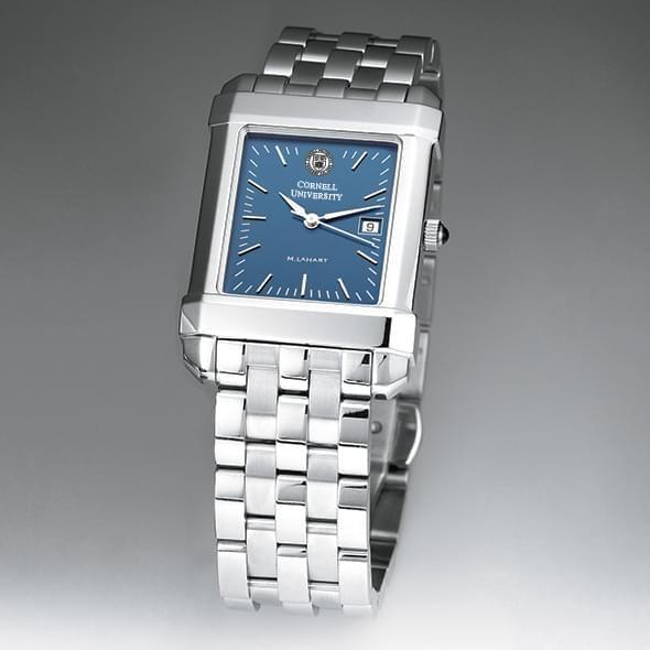 Cornell Men's Blue Quad Watch with Bracelet - Image 2