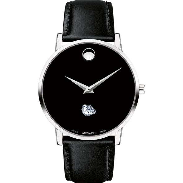Gonzaga Men's Movado Museum with Leather Strap - Image 2