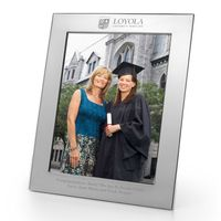 Loyola Polished Pewter 8x10 Picture Frame