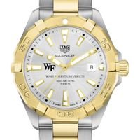 Wake Forest University Men's TAG Heuer Two-Tone Aquaracer