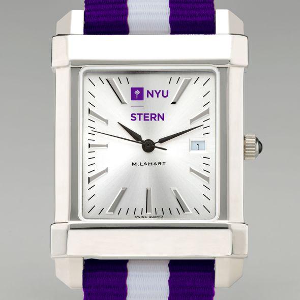 NYU Stern Collegiate Watch with NATO Strap for Men - Image 1